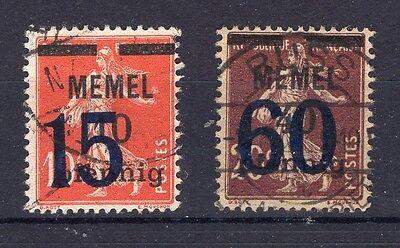 MEMEL 34 35 SATZ GEST 74241