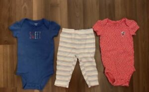Carter's clothing size  9 months $5 for both