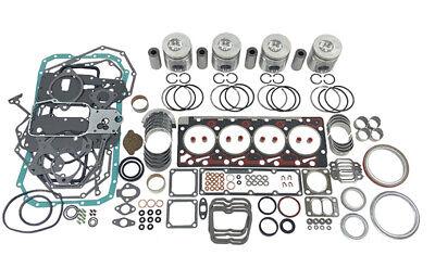 4bt Cummins Overhaul Engine Kit For Case 580k 580l 580sl Backhoes