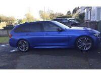 67 Blue BMW Diesel Estate Shadow Edition