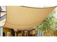 Garden Sun Shade Sunscreen Awning Canopy 5m x 5m 98% UV Block