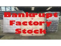 MATTRESS BEDS MEMORY FOAM SLEIGH BEDS BANKRUPT STOCK FROM £40