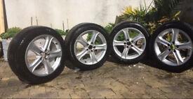 Genuine 2012 Audi A4 17 inch alloy wheels