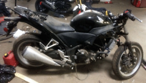 2011 CBR250R Winter Project Race Bike Reduced