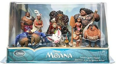 Disney Moana Moana Exclusive 10-Piece PVC Figure Play