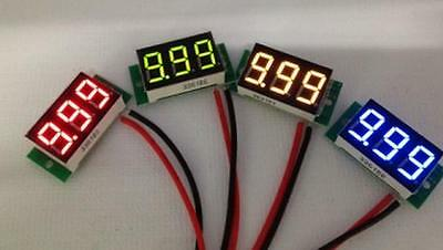 Mini 0.36 Dc Digital Voltmeter Panel Mount Led Voltage Volt Meter Red 2.5030v