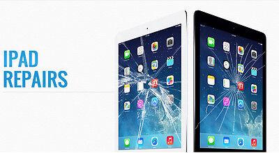 iPad 2, 3 or 4 Broken Glass Screen Repair Service FAST SHIPPING