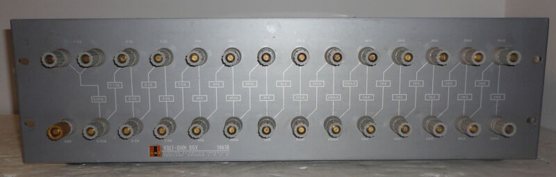 ESI 1063B Volt-Ohm Box Decade Resistor