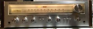 PIONEER SX 550 SX-550 VINTAGE STEREO RECEIVER.