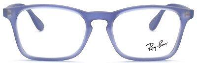 Ray-Ban Kinder Brillenfassung RB1553 3668 46 mm blau Kunststoff 221 38 (Ray Ban Brillen Kinder)