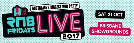 2x RnB Friday Tickets - Brisbane