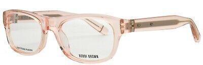 BOBBI BROWN Eyeglasses LIGHT PINK THE BOBBI US 0JBF (Light Pink Glasses)
