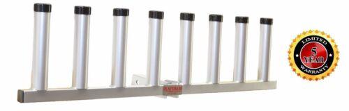 Plattinum Pivot Receiver Hitch Fishing Rod Holder Aluminum 8 Rods Heavy Duty-USA