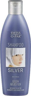 Swiss-O-Par SILVER Shampoo Anti-Gelbstich blondiertes & grau Haare 250ml