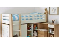 Feather and Black Archie bedroom set (Cabin bed and more)