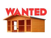 WANTED Shed summer play house