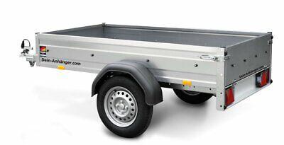 STEMA pkw Anhänger Kasten OPTI 750 Kg mit Plane 1,10m,13Zoll 100KMH Freigabe