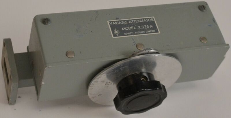 HP Variable Attenuator Waveguide X375A