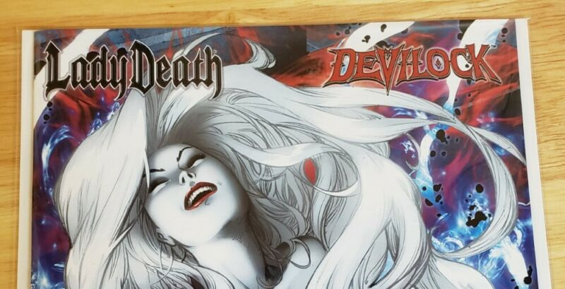 Lady Death Treacherous Infamy #1 Consummation Edition Unsigned, NM!