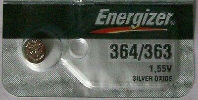 Energizer Watch Battery 364/363 replaces SR621SW, SR621W, V364, V363 & AWI S14