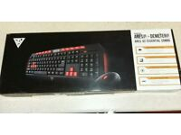 ARES V2 ESSENTIAL COMBO - GAMING KEYBOARD / OPTICAL GAMING MOUSE