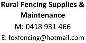Rural Fencing Supplies & Maintenance Byford Serpentine Area Preview