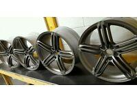 "Audi alloy wheels 20"" oem speedline genuine a6/s6/a7/s7 5x112"