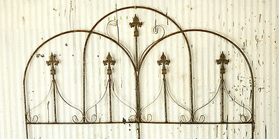Wrought Iron Decorative Dome Fence Garden Border , Trelli...