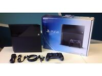 Playstation 4 500GB V Good Condition plus one game