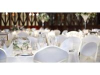 Chair covers and table cloths