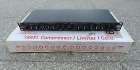 DBX Compressor Limiter Gate 166XL – Like new