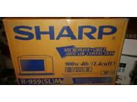 Sharp R-959(SL) MAA 40Litre Combination Microwave