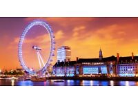 Coca Cola London Eye Tickets (4 available)