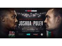 Fixed Price Joshua v Pulev Tickets