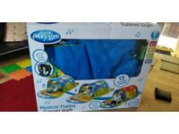 Baby Tunnel Gym Musical puppy Playgro