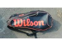 Wilson burn team 12 racket bag