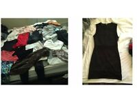 Clothes bundle S/M, t shirts, tops, skirts, jumpers, jeans, lots sold as a bundle, loads of brands