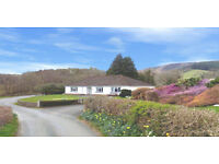 Mid-Wales, Spacious 4 Bed Bungalow, Stunningly beautiful location. DSS may be considered. £995pm