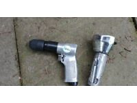 Used Plc drill and Sealey grinder air tools
