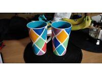 Two tall Whittard Mugs