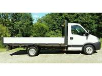 IVECO DAILY 14FT 2011 ONLY 108 K NO VAT DROPSIDE FULL SERVICE NOT FORD TRANSIT MERCEDES SPRINTER