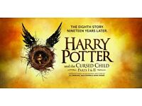 Harry Potter and the Cursed Child - Stalls - Parts 1 & 2 - November 9 - SWAP ONLY