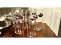 6 x Brand New in Box Felsgold Cider Beer Tulip Tumblers Pint Glasses