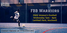 WOMENS FOOTBALL PROJECT - NEEDS PLAYERS OF ALL ABILITIES!!