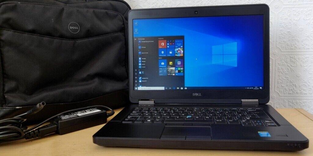 Like New High Spec Dell Core i5-4310U Laptop,8GB RAM+256GB SSD,Win 10+carry  case | in Bradford, West Yorkshire | Gumtree