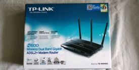 TP-LINK (TD-W8980) N600 wireless dual band gigabit router