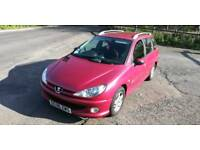2006 Peugeot 206 SW 1.4 Estate Swap or Sell