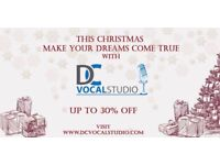 Singing Lesson in Cardiff and via Skype CHRISTMAS OFFER!!!!