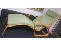 IKEA chair, chaise longue, lounger