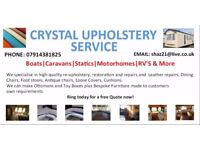 Crystal Upholstery Service